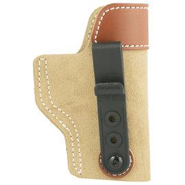 De Santis Desantis, Sof-Tuck Inside The Pant Holster, Fits Glock 19/23/36, Right Hand, Tan Leather