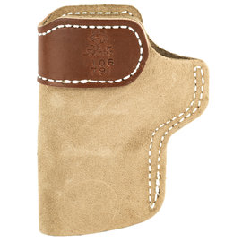 "DESANTIS GUNHIDE DeSantis Gunhide, Sof-Tuck Inside The Pant Holster, Fits 1911 With 3"" Barrel, Right Hand, Tan Leather"