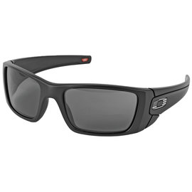 OAKLEY Oakley Fuel Cell, Flag Collection, Glasses, Matte Black Frame with Tonal USA Flag and Grey Lenses