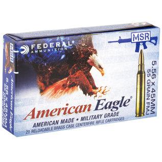 FEDERAL - AMERICAN EAGLE Federal, American Eagle, 556NATO, 55Gr 20