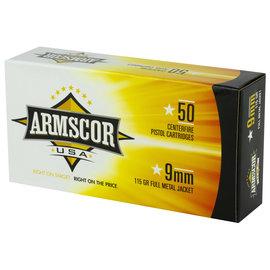 Armscor Armscor, 9MM, 115 Grain 20 round box