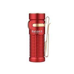 Olight Olight Baton 3 Premium Edition Red
