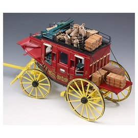 VICTORY MODELS WILD WEST STAGE COACH (AMATI