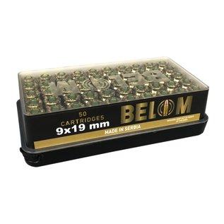 BELOM Belom 9x19mm 124 Grain 50 round box