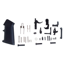 LBE LBE Unlimited  Complete Lower Parts Kit w/Pistol Grip & Trigger Guard AR-15 Black