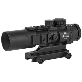 Burris Burris  AR-332 3x 32mm 4 MOA Illuminated Red/Green Ballistic CQ