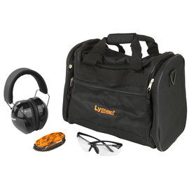 LYMAN Lyman Range Kit Hearing and Eye Protection Range Bag Barrel Cleaner