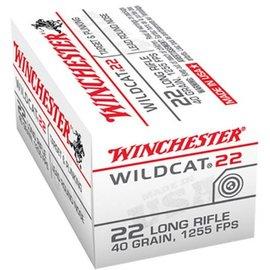 Winchester Winchester 22LR Wildcat 40 Gr Round Nose 50rd Box