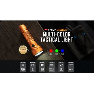 Olight Olight Freyr Multi Color Flashlight - Orange