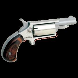 "NAA NAA Cap and Ball Revolver Single 22 1.62"" Wood Stock 5"