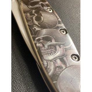 Kershaw Custom Skull Themed Kershaw Leek