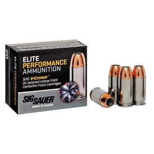 Sig Sauer Sig Sauer Elite V-Crown 9mm Luger 124 gr Jacketed Hollow Point