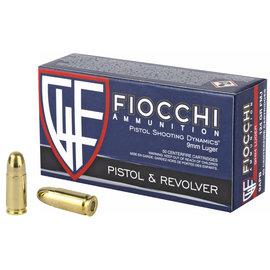 Fiocchi Ammunition FIOCCHI  9MM 124 FMJ 50