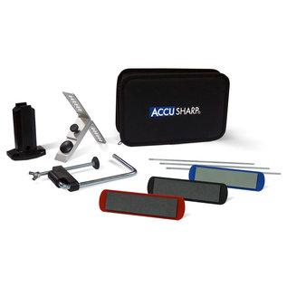 ACCUSHARP AccuSharp, Knife Sharpener, 3 Stone Precision Sharpening Kit