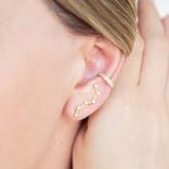 EAR CRAWLERS CONSTELACION DORADO