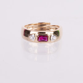 19-49125R ANILLO IMPERIAL ROSA AJUSTABLE