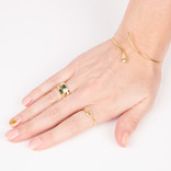 ANILLO IMPERIAL VERDE AJUSTABLE