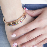 CUFF TIPO CARTIER  ROSEGOLD