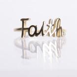 ANILLO FAITH DORADO