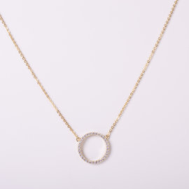 CIRCLE GOLDEN NECKLACE