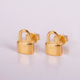 Penny GOLDEN LOCK STUDS