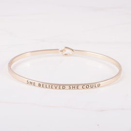 19-7168 PULSERA SHE BELIEVED SHE COULD DORADO