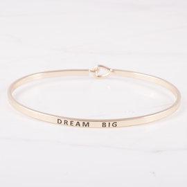19-7170 PULSERA DREAM BIG DORADO