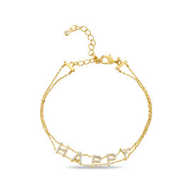 20-0223 PULSERA HAPPY EN DORADO