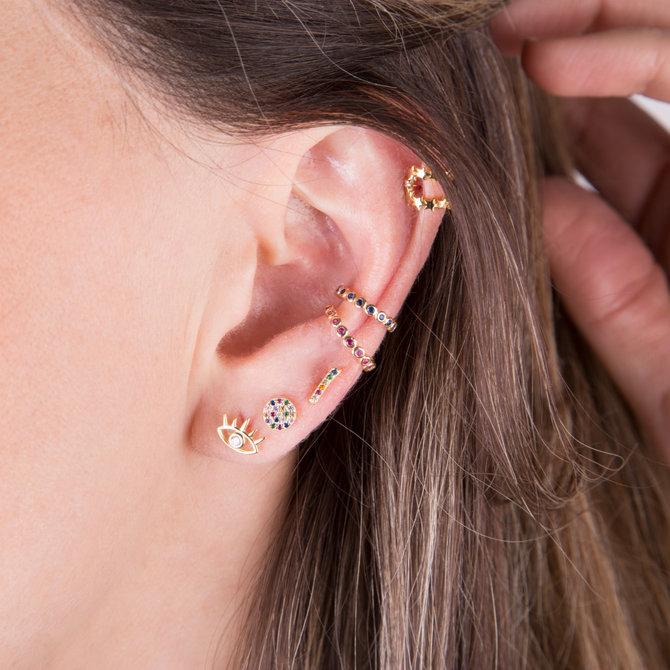 20-0603 EAR CUFF ESTRELLAS