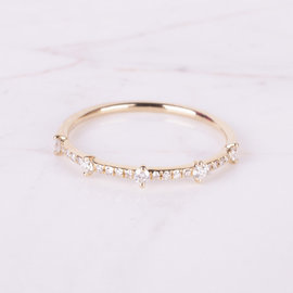 20-8149 ANILLO DIAMANTES ORO TIPO PRINCESS