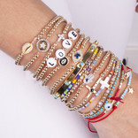 20-5063 PULSERA GOLDFILLED OJO