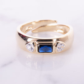 20-49189 ANILLO IMPERIAL AZUL AJUSTABLE