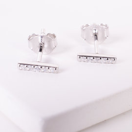 20-4950 STUDS BARRA MINI PLATEADO
