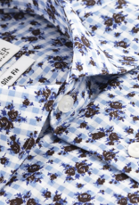 Kurt River Blue Rose Spread Shirt