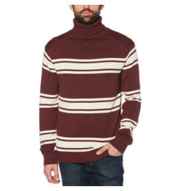 Original Penguin Maroon Stripe Sweater