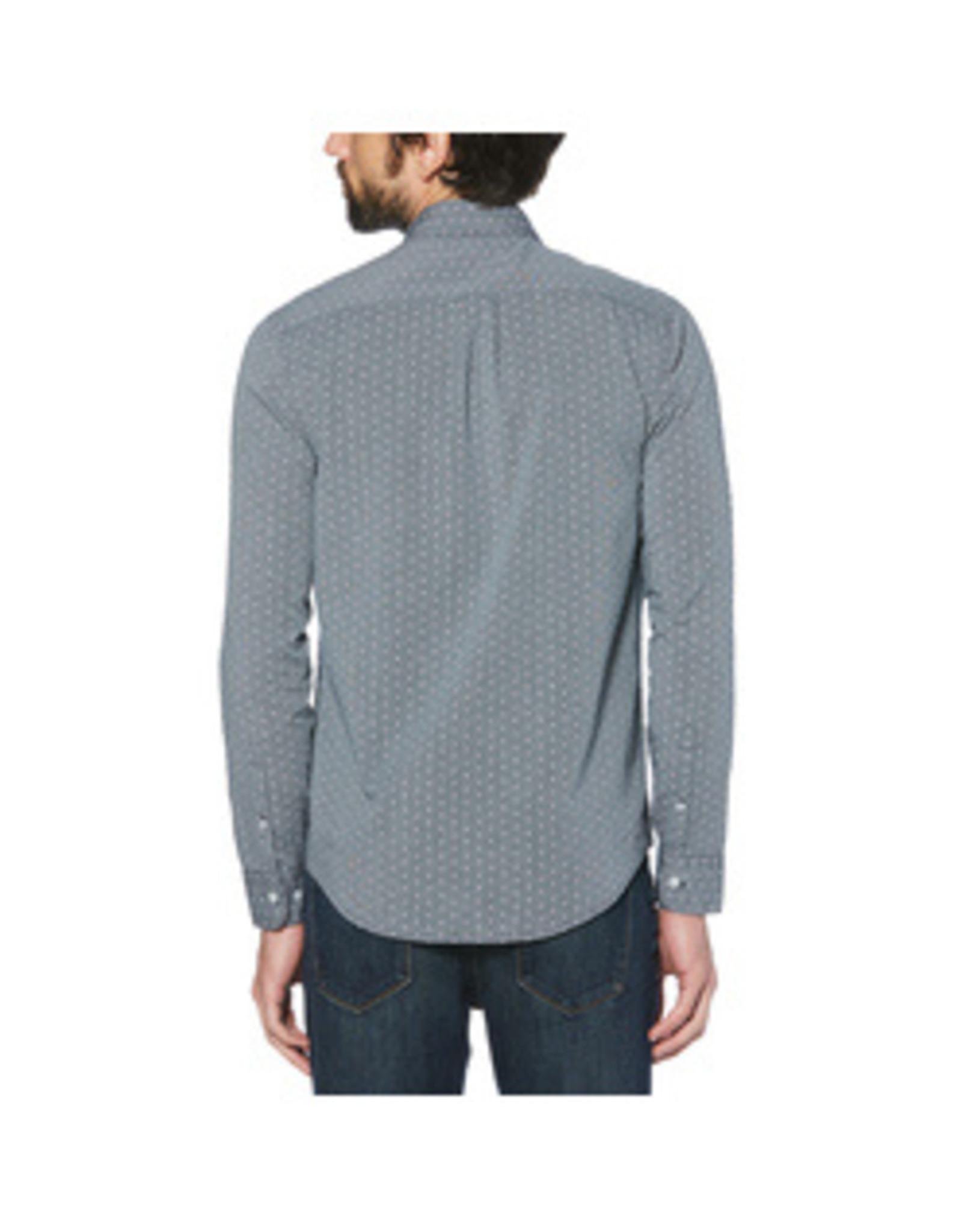 Original Penguin Grey polka dot shirt
