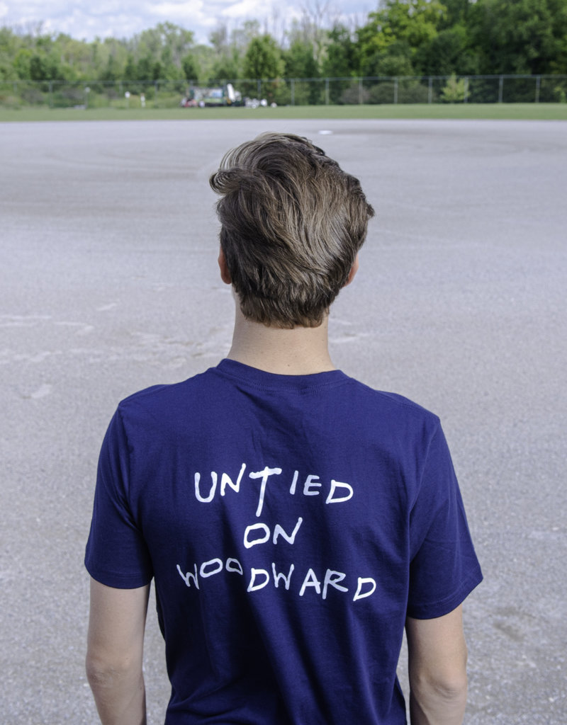 Untied Just a Kid From Detroit T-Shirt