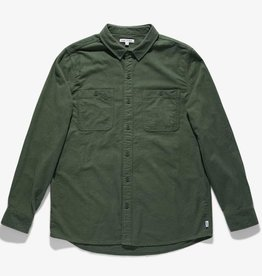 Banks Journal Green Marine Woven Shirt