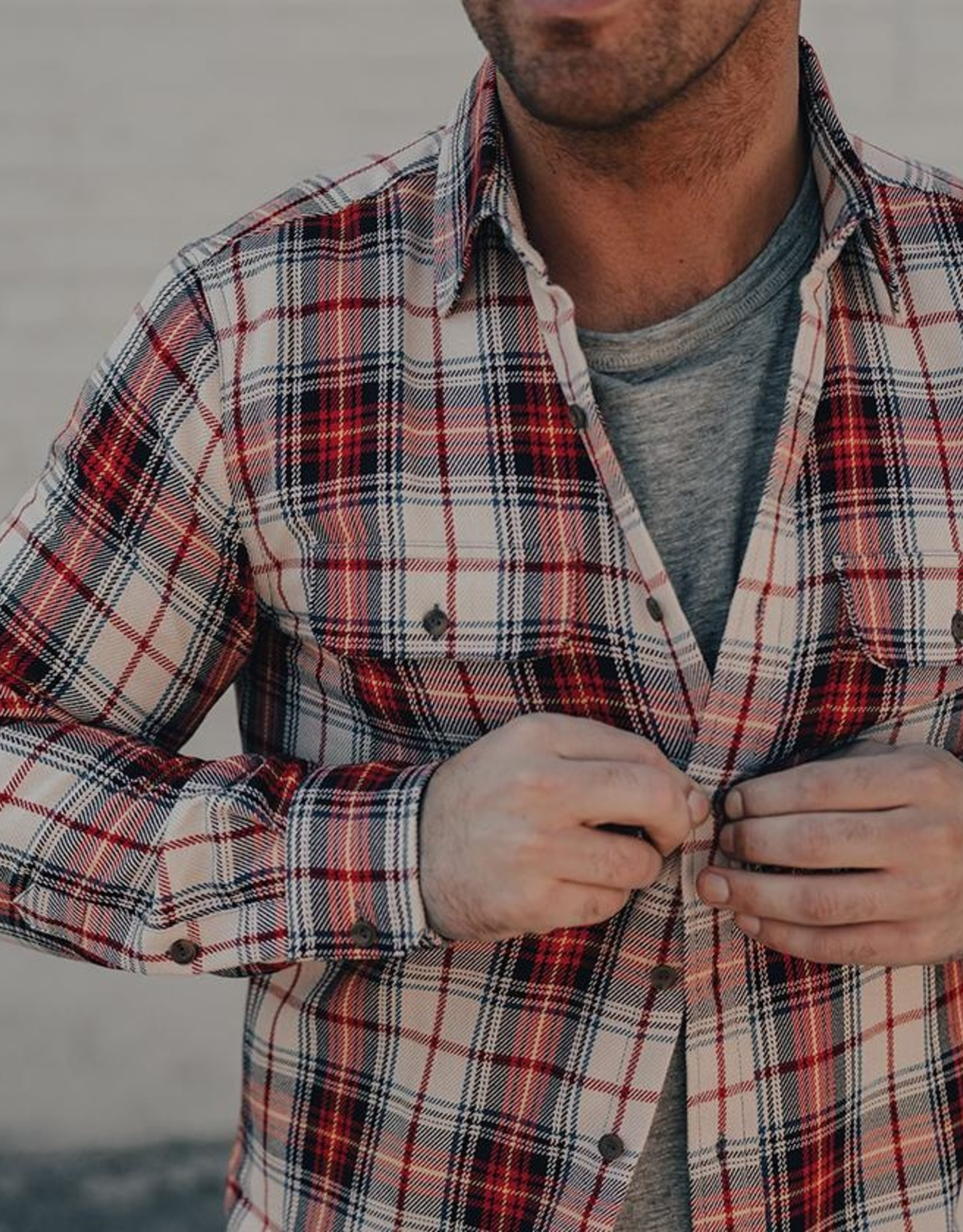 The Normal Brand Jimbo Double Pocket Overshirt