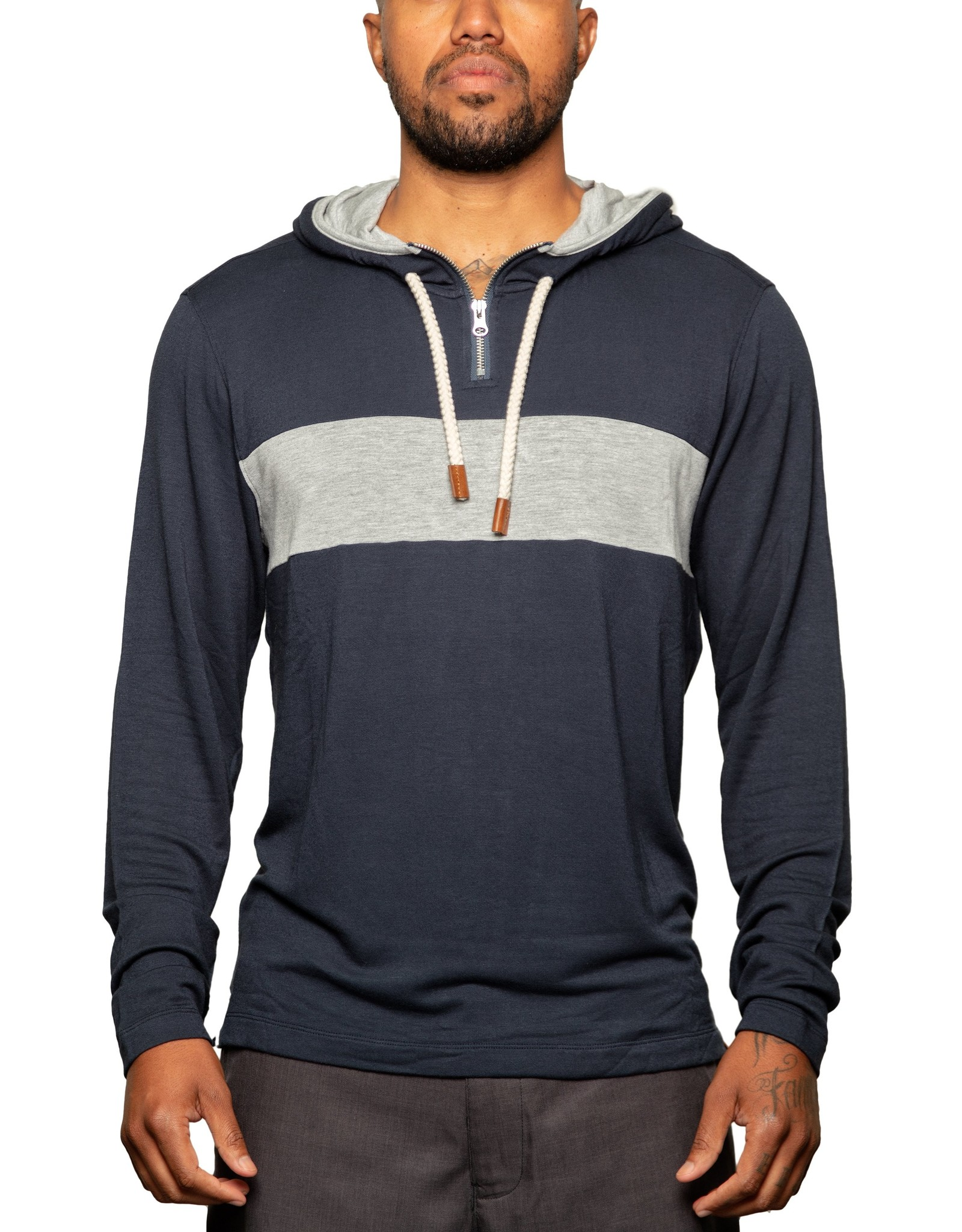 Fundamental Coast Newport Stripe Sweatshirt