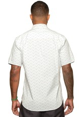 Fundamental Coast Hallow White Short Sleeve Shirt