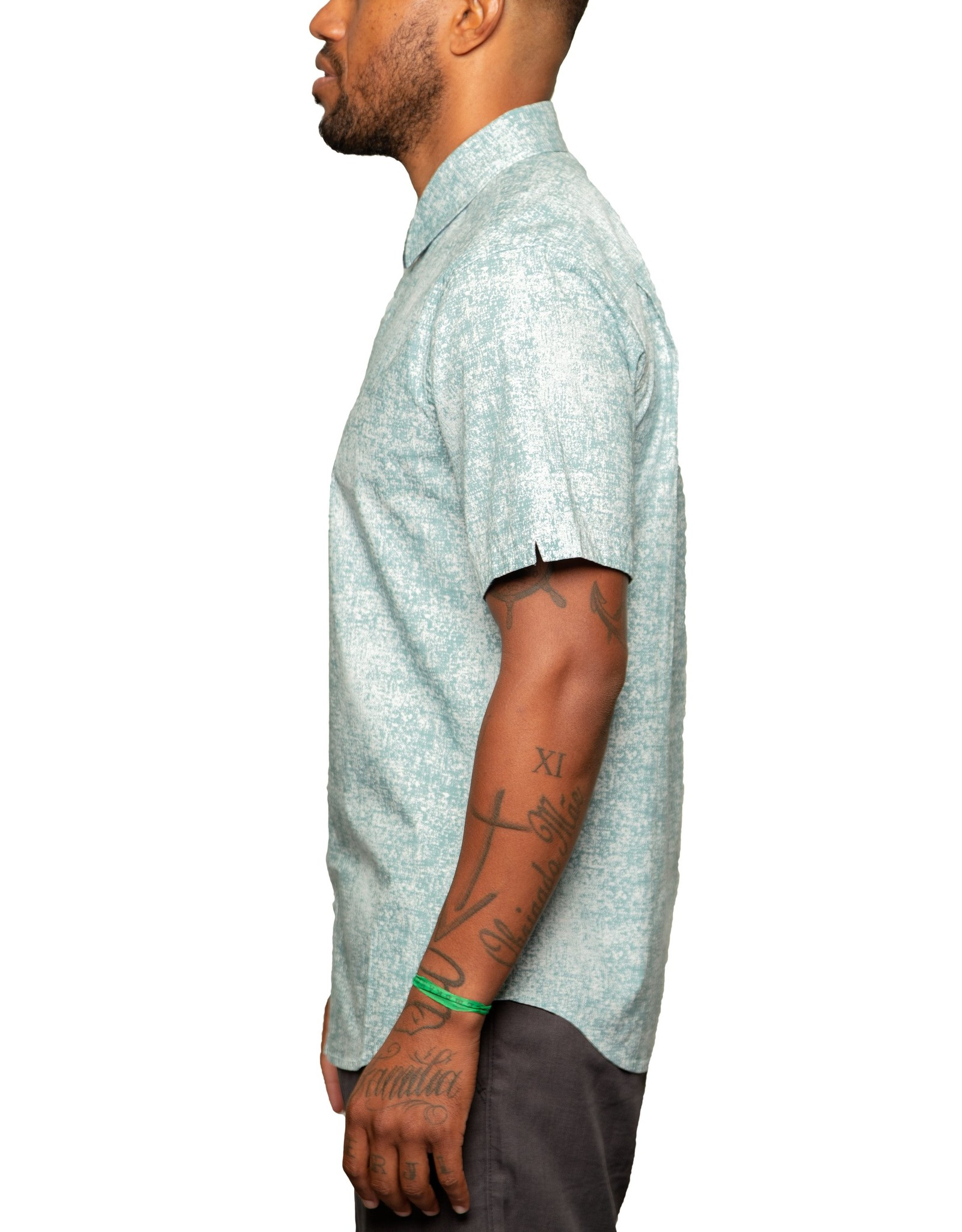 Fundamental Coast Epic Dusty Blue Short Sleeve Shirt