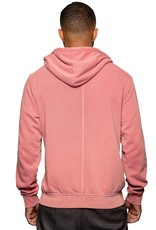 Fundamental Coast Dusty Red Full Zip Sweatshirt