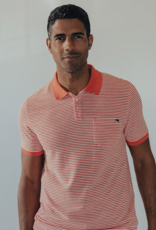 The Normal Brand Stretch Pique Polo
