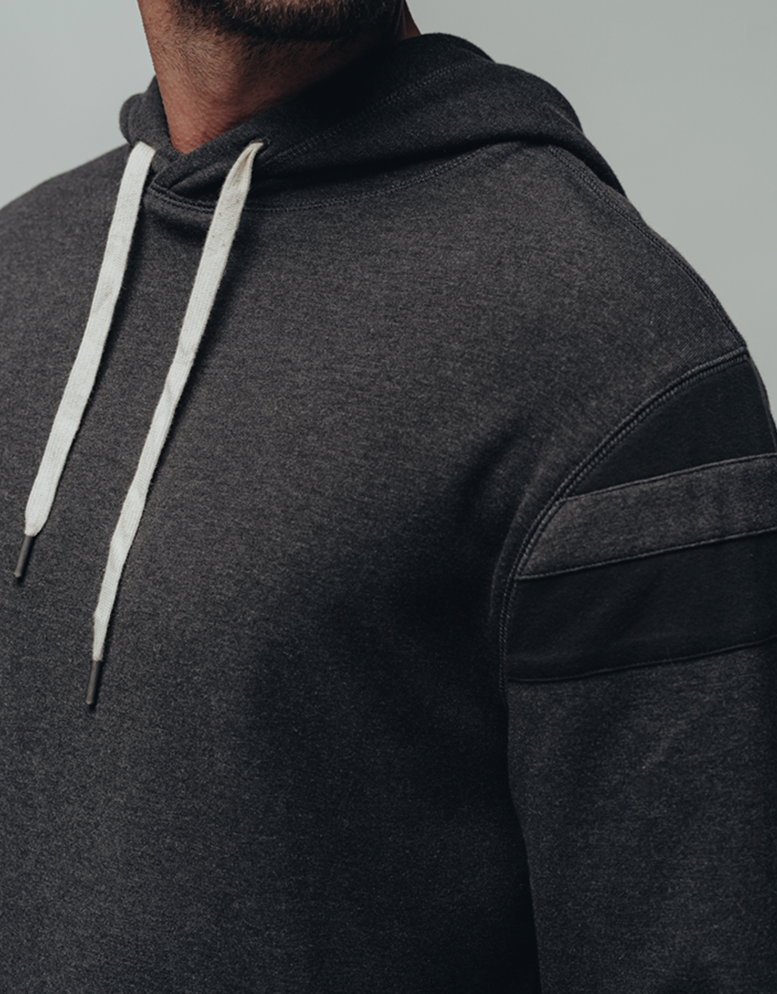 The Normal Brand Puremeso Retro Hoodie Charcoal