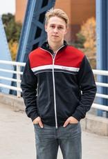 Ben Sherman Color Block Tricot Jacket - Navy