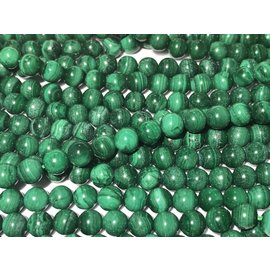 MALACHITE Natural 8mm Round