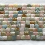 BEYRL (Mixed Types) 11 x 9mm Faceted Rectangle