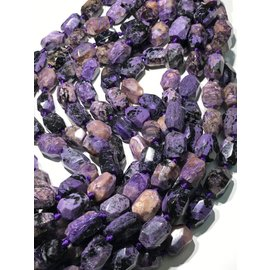 CHAROITE Natural 18 x 12mm Faceted Nuggets