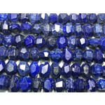 LAPIS LAZULI Natural 20 x 12mm Faceted Nugget